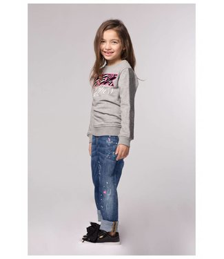 My brand MY BRAND KIDS RISK TAKERS SWEATER - ZWART