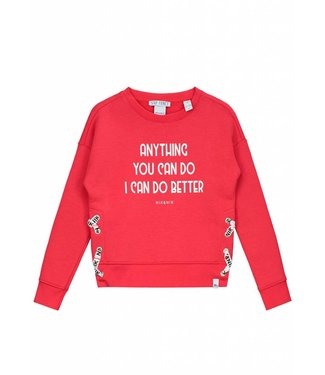 NIK&NIK NIK& NIK ANYTHING SWEATER - ROOD