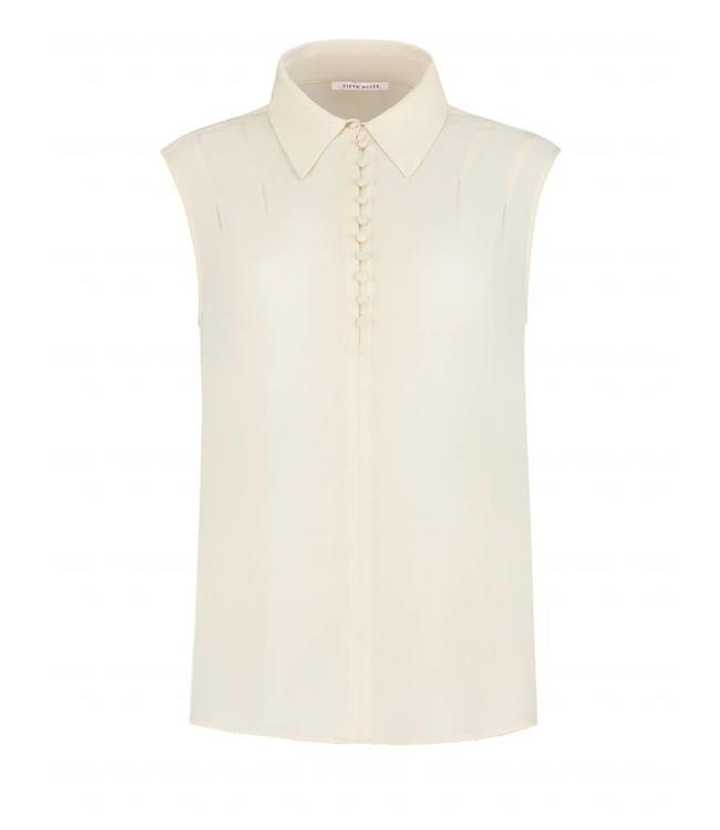 FIFTH HOUSE FIFTH HOUSE RONIN BLOUSE SLEEVELESS - WIT