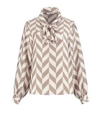 FIFTH HOUSE FIFTH HOUSE RUM BLOUSE - DIAMOND BEIGE