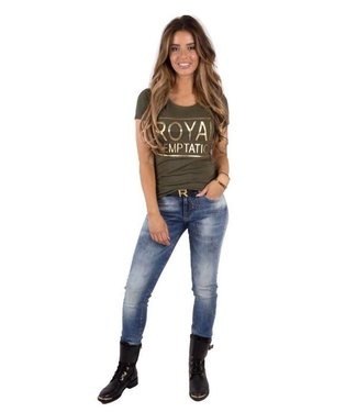 ROYAL TEMPTATION ROYAL TEMPTATION FREYA T-SHIRT - GROEN