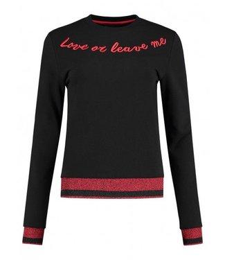 Nikkie N Logo Glitter Sweater Shere Fashion
