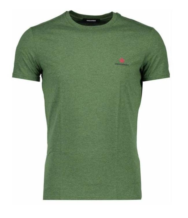 DSQUARED2 DSQUARED2 BASIS T-SHIRT - GROEN