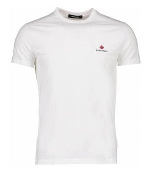 DSQUARED2 DSQUARED2 BASIS T-SHIRT - WIT
