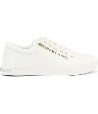 VERSACE JEANS VERSACE JEANS COATED ZIP SHOES - WIT