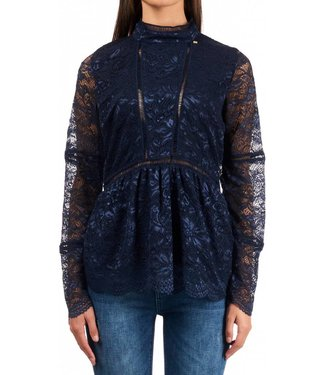 ROYAL TEMPTATION ROYAL TEMPTATION BLOUSE ANDORA - BLAUW