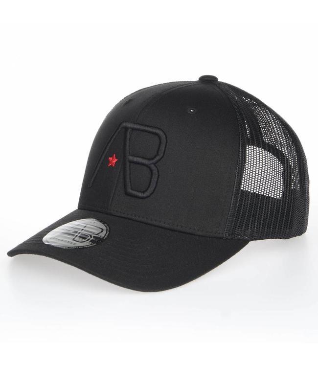 AB LIFESTYLE RETRO TRUCKER CAP - BLACK