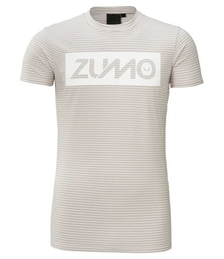 ZUMO ZUMO FRANKIE PRINT T-SHIRT WIT