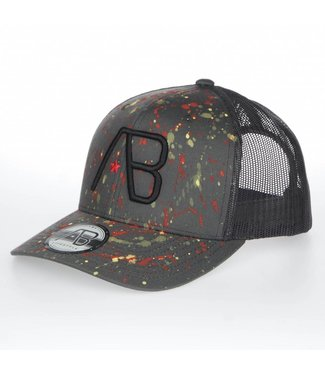 AB LIFESTYLE AB RETRO TRUCKER THE PAINT PET - GRIJS