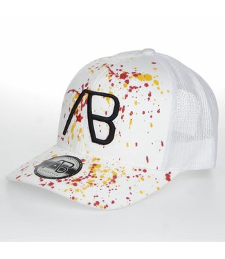 AB LIFESTYLE AB RETRO TRUCKER THE PAINT PET - WIT