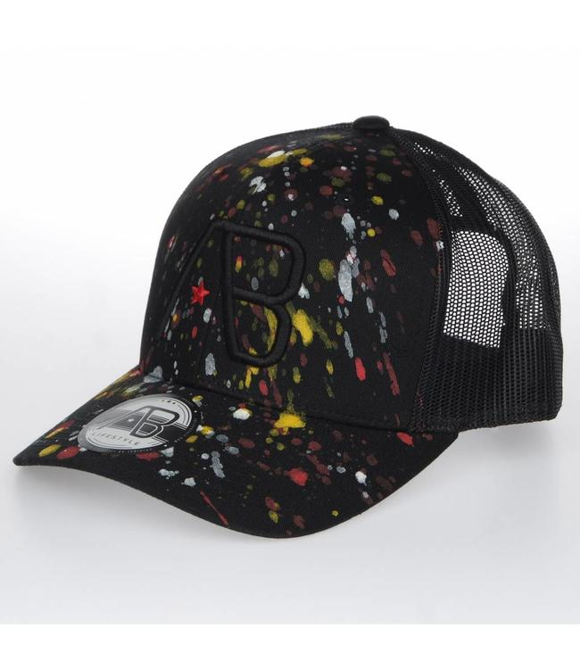 AB LIFESTYLE AB RETRO TRUCKER THE PAINT PET - ZWART