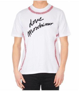 LOVE MOSCHINO LOVE MOSCHINO BASEBALL T-SHIRT (M 4 732 2X M 3876)  WIT