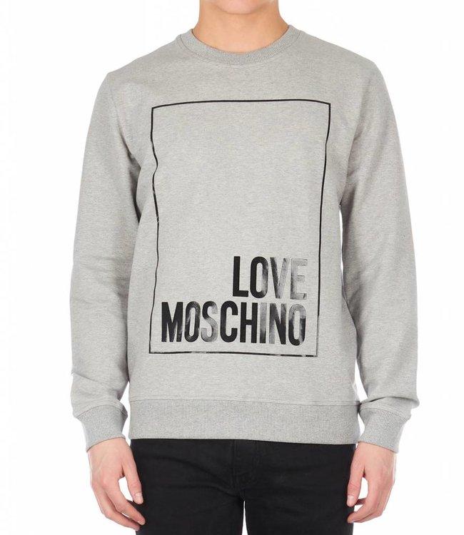 LOVE MOSCHINO LOVE MOSCHINO SWEATER (M6 482 13 E 1999) GRIJS