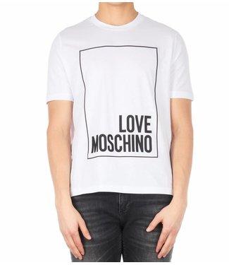 LOVE MOSCHINO LOVE MOSCHINO T-SHIRT - WIT (M4-732-2R-M3876)
