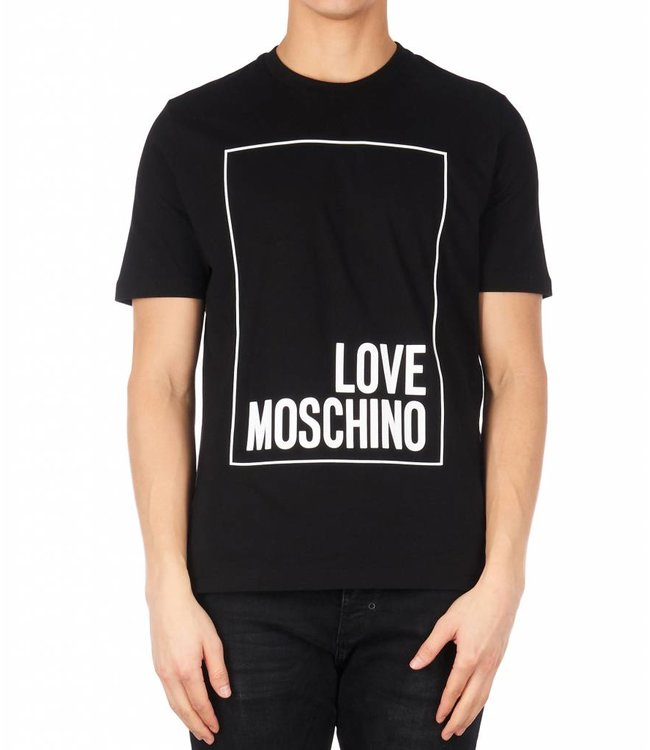 LOVE MOSCHINO LOVE MOSCHINO T-SHIRT - ZWART (CF M 4 732 2R M 3876)