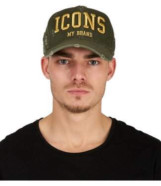 My brand MY BRAND ICONS CAP - ARMY | GOUD