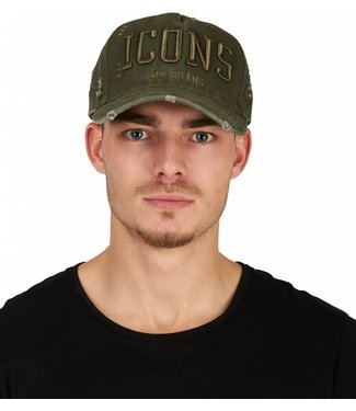 My brand MY BRAND ICONS CAP - ARMY | ARMY
