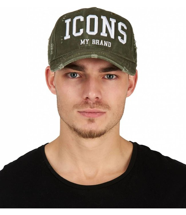 My brand MY BRAND ICONS CAP - ARMY | WIT