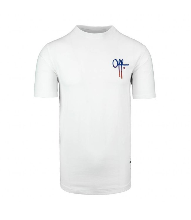 OFF THE PITCH OFF THE PITCH FULL STOP T-SHIRT - WIT