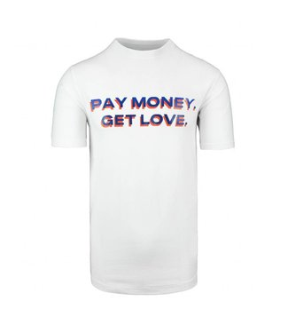 OFF THE PITCH OFF THE PITCH PAY MONEY T-SHIRT - WASHED WHITE