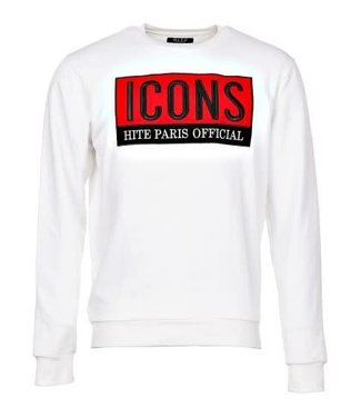 HITE COUTURE HITE ICONS SWEATER - WIT (APERIL)