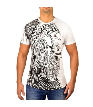 JEANROIS JEANROIS CHIEF LION - WIT