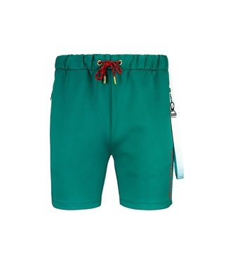 OFF THE PITCH OFF THE PITCH VALUEBET TRACKSHORT - GREEN/OFF-WHITE