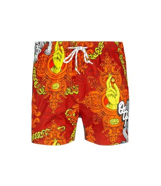 OFF THE PITCH OFF THE PITCH ALOHA SWIMSHORT - RED