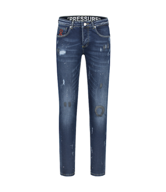 BELIEVE THAT BELIEVE THAT PRESSURE JEANS - BLAUW
