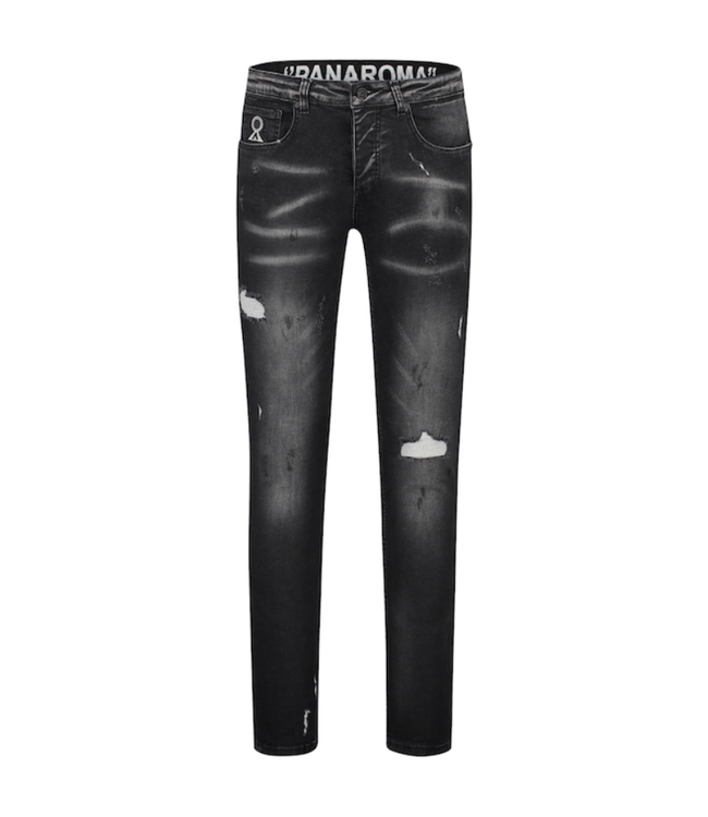 BELIEVE THAT BELIEVE THAT PANORAMA JEANS - ZWART