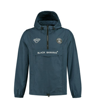 BLACK BANANAS BLACK BANANAS F.C. ANORAK  WINDBREAKER - NAVY BLAUW
