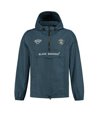 BLACK BANANAS BLACK BANANAS F.C. ANORAK  WINDBREAKER - NAVY BLAUW