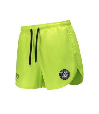 BLACK BANANAS BLACK BANANAS F.C. SWIMSHORT - NEON GEEL