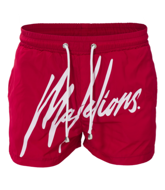 MALELIONS MALELIONS SWIMSHORT SIGNATURE - RED