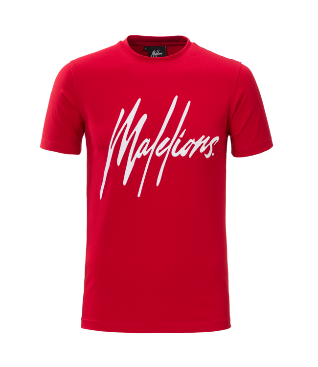 MALELIONS MALELIONS T-SHIRT SIGNATURE - RED