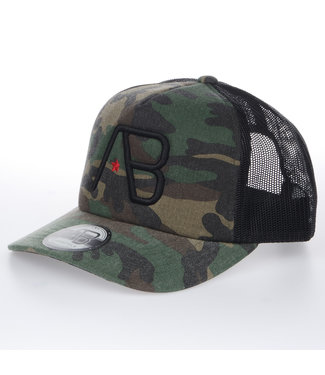 AB LIFESTYLE AB RETRO TRUCKER PET - CAMO