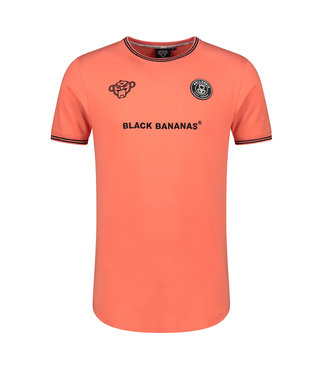 BLACK BANANAS BLACK BANANAS F.C. MUSCLE T-SHIRT - ORANJE
