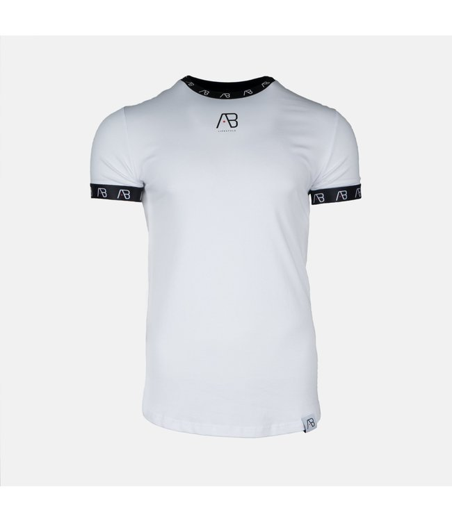 AB LIFESTYLE AB ESSENTIAL T-SHIRT V2 - WIT