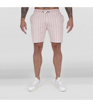 AB LIFESTYLE AB STRIPED JOGGINGBROEK - ZALM