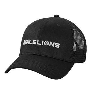 MALELIONS MALELIONS CAP - BLACK/WHITE