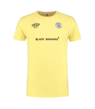 BLACK BANANAS BLACK BANANAS F.C. BASIC T-SHIRT - GEEL
