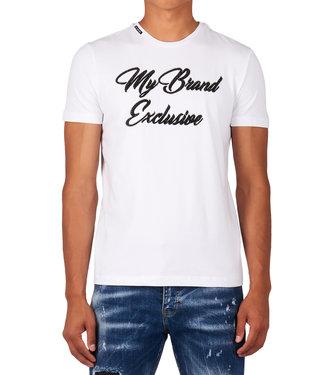 My brand MY BRAND BRANDING 04 T-SHIRT - WIT