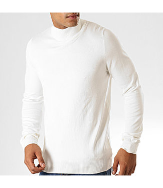 BRUNO LEONI BRUNO LEONI TURTLENECK - WIT (M-828)