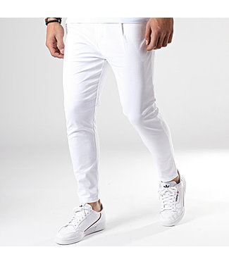 UNIPLAY UNIPLAY STRETCH PANTALON - WIT (PU903)