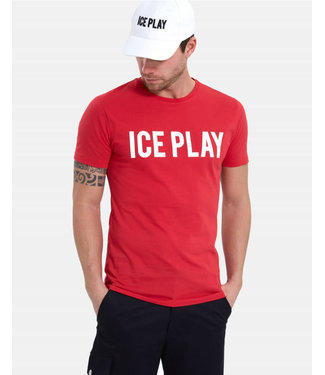 ICEPLAY ICE PLAY T-SHIRT - ROOD (U1MF013)