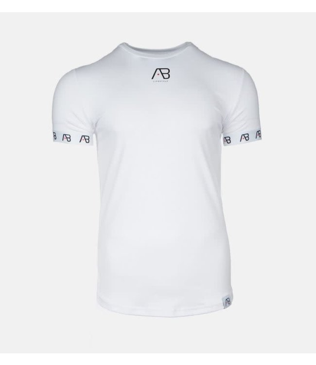 AB LIFESTYLE AB ESSENTIAL T-SHIRT V3 - WIT