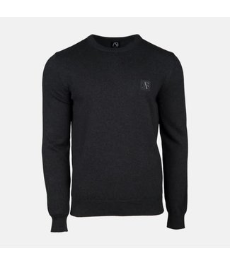 AB LIFESTYLE AB ESSENTIAL TRICOT SWEATER - GRIJS