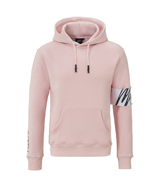 MALELIONS MALELIONS CAPTAIN HOODIE - ROZE/WIT