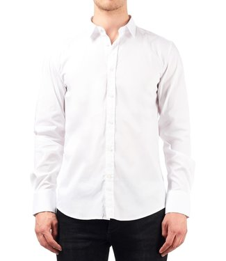 ANTONY MORATO ANTONY MORATO SUPER SLIM-FIT BLOUSE - WIT
