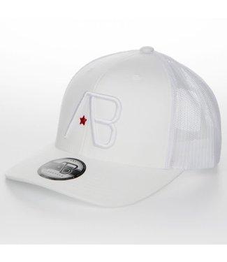 AB LIFESTYLE AB RETRO TRUCKER CAP - WIT